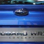 Subaru WRX concept number plate enclosure