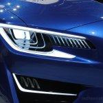 Subaru WRX concept headlight