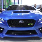 Subaru WRX concept front fascia