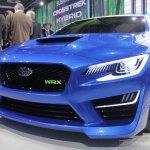 Subaru WRX concept front three quarter left