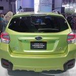 Subaru XV Crosstrek rear fascia
