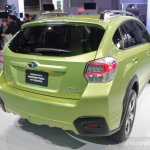 Subaru XV Crosstrek rear three quarter right
