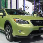 Subaru XV Crosstrek front three quarters