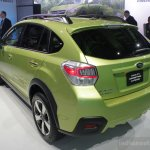 Subaru XV Crosstrek rear three quarters right