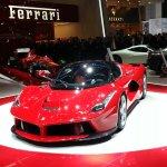 La Ferrari Geneva motor show live front
