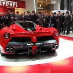 La Ferrari rear closeup