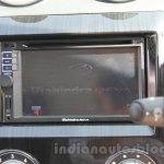 Mahindra Reva E2O digital screen