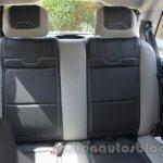 Mahindra Reva E2O rear seat comfort