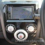 Mahindra Reva E2O digital display