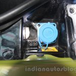 Mahindra Reva E2O charging plug