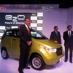 Mahindra e20 launch