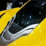 McLaren P1 Geneva Motor show live engine bay
