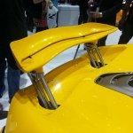 McLaren P1 Geneva Motor show live spoiler