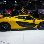 McLaren P1 Geneva Motor show live side