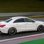 Mercedes CLA 45 AMG brake discs
