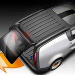 Tata eMO-C hatch door