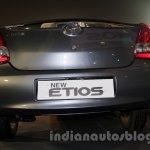Toyota Etios Facelift rear fascia
