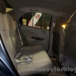 Toyota Etios Facelift rear seat