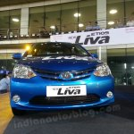 Toyota Etios Liva live images front view