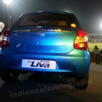 Toyota Etios Liva live images rear view