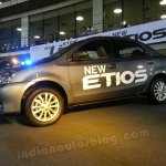 Toyota Etios facelift live images side view