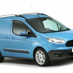 2013 Ford Transit Courier front three quarters