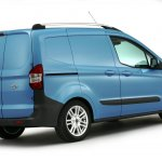 2013 Ford Transit Courier rear three quarters