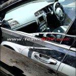 2013 VW Golf test mule India interior