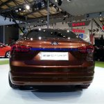 Ford Escort concept rear view at 2013 Auto Shanghai