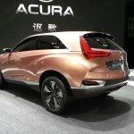 Acura SUV-X concept auto shanghai live 2013 side