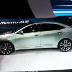 Hyundai Mistra side profile at the 2013 Auto Shanghai