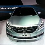 Hyundai Mistra front at the 2013 Auto Shanghai