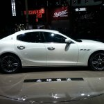 Maserati Ghibli auto shanghai 2013 live side