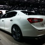Maserati Ghibli auto shanghai 2013 live reAR quarter left