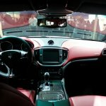 Maserati Ghibli auto shanghai 2013 live interior