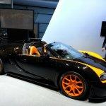 Bugatti Veyron Vitesse WRC auto shanghai live front quarter right