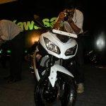Kawasaki Ninja 300 white front