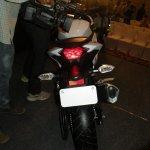 Kawasaki Ninja 300 white rear