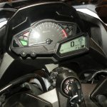 Kawasaki Ninja 300 green instument