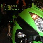 Kawasaki Ninja 300 green front fairing