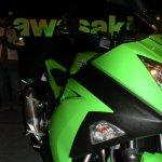 Kawasaki Ninja 300 green fairing