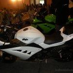 Kawasaki Ninja 300 white side