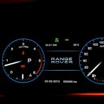 Range Rover instrument cluster