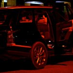 Range Rover rear profile