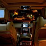 Range Rover DVD screen