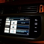 Range Rover central display unit