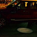 Range Rover puddle lamp