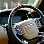 Range Rover steering wheel