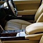Range Rover interior front