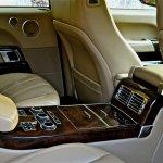 Range Rover rear seat armrest